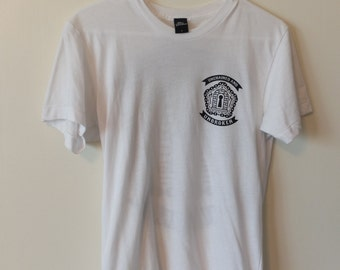 White Graphic Tee (size Small)