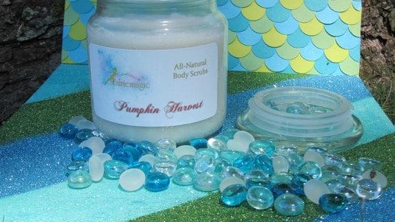 All Natural PUMPKIN HARVEST Sugar Scrub, Handmade by a Certified Esthetician 8 oz/16 oz