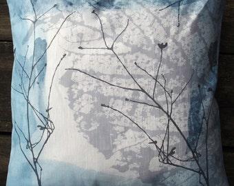 INDIGO  CUSHION COVER 50x50cm 1
