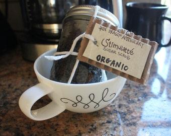ORGANIC Stimulatté Sugar Scrub