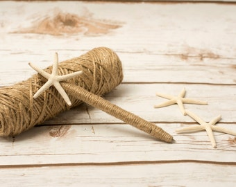 Wedding Guest Book Pen Starfish Burlap Beach Wedding Guestbook Pens