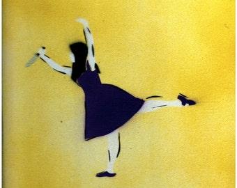 Ballerina with Knife - Original Painting