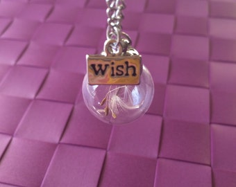 Globe wish necklace