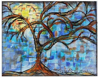 """Mixed Media Fine Art Print,  """"Curves are So Emotional"""""""
