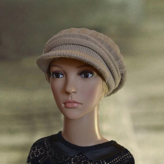 womens winter hats warm hat with visor warm wool hats knit
