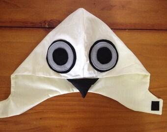 Bird Hood - White