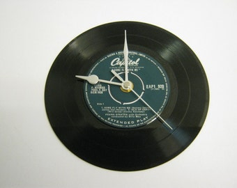"""Frank Sinatra - """"Come Fly With Me"""" Record Wall Clock"""