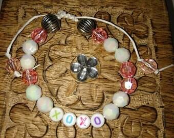 Kiss Bead Bracelet