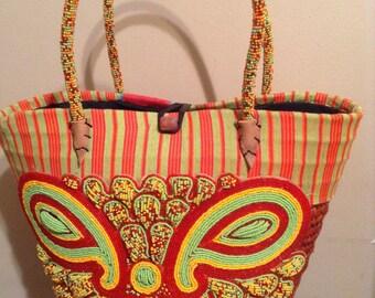 Beaded African Handbag