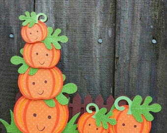 Pumpkin Cake Topper,Pumpkin Patch Sign,Pumpkin Baby Shower,Our Little Pumpkin is Turning One,Smash Cake Topper,Pumpkin Birthday Decorations