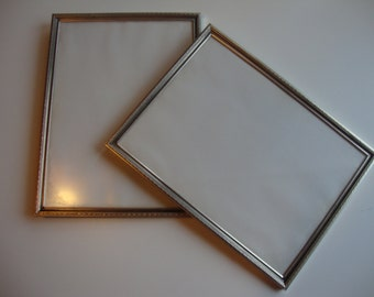 Swedish, Vintage, 2 Old Brass  Metal Frames 1960s The price is for both.