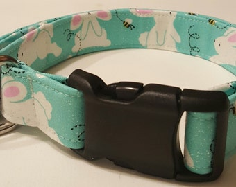 Dog Collar, Easter Bunny, Springtime, Happy Easter, Spring, Easter Dog Collar
