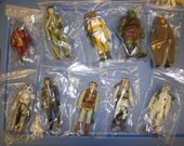 Lot of 10 vintage Star Wars figures! Most complete. NO DUPLICATES Snaggletooth +++ more