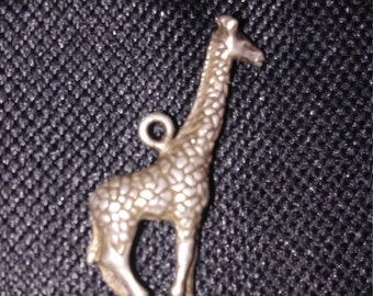 Vintage Giraffe Pendant