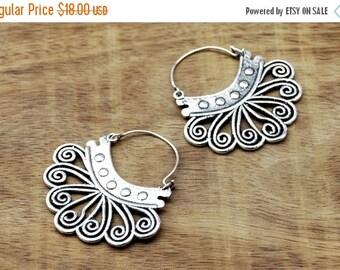 ON SALE Tribal Earrings, Gypsy Earrings, Ethnic Earrings, Silver Earrings, Indian Earrings, Boho Earrings, Tribal Jewelry,