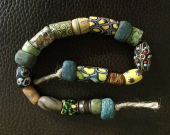 String of African Trade Beads.
