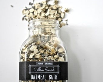 Lavender & Chamomile Oatmeal Bath Soak · organic bath soak · organic baby products · 16oz · natural baby products
