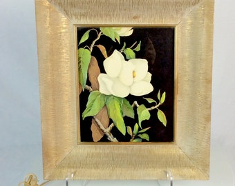 1950s Framed Magnolia Mood Light