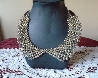 vintage m&s collar necklace