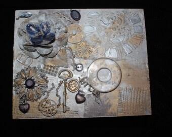 Vintage Steampunk Jewelry Box