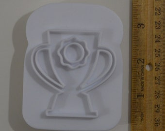 "GOBLET/HOLY GRAIL/Trophy Cookie/Bread Stamp | 2008 3.5"" Chapman Enterprises"