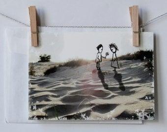 postcard love