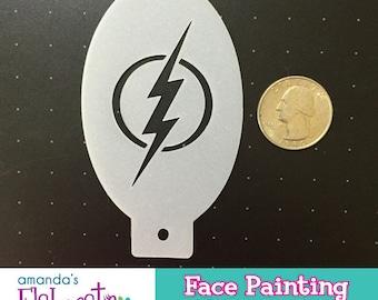 FLASH - Face Painting Stencil (Mini)