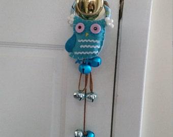 Owl Doorknob Hanger, Doorknob Hanger, Door Decor, Owls, Owl Decor