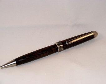 Ballpoint pen model Euro wengué