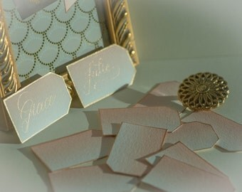 Gift and Favor tags. Sophisticated and eye-catching
