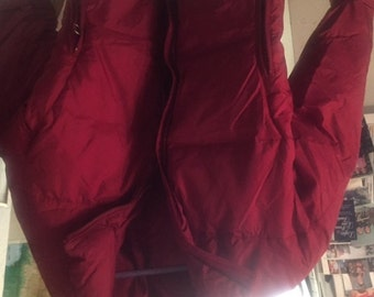 Lovely L.L.Bean Woman's Jacket Medium Red Classy