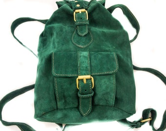 BABY SUEDE RUCKSACK boho style