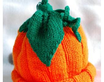 Kids Pumpkin Hat