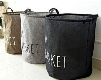 My Basket Fabric Laundry/Toy Baskets