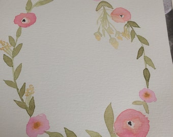 Flower Circle Prints