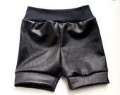 Snake skin, black, scale, baby, toddler, pants, leggings, shorts, shorties, unisex, boy, girl,
