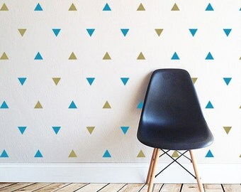 Triangle Pattern Wall Decal (1271-WALL)