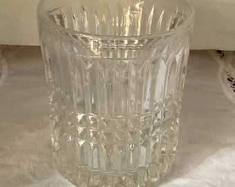 Vintage Clear Glass Tumblers