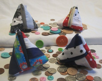 Red, White, and Blues Coin Purses