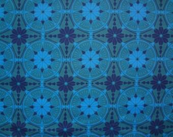 Anna Maria Horner for FreeSpirit / Medallion in Aquamarine / True Colors Collection