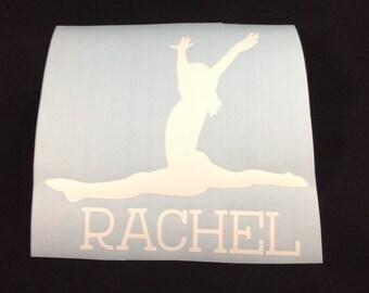 "Gymnastics Decal 4x4"""