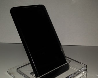 Acrylic cell phone stand / holder