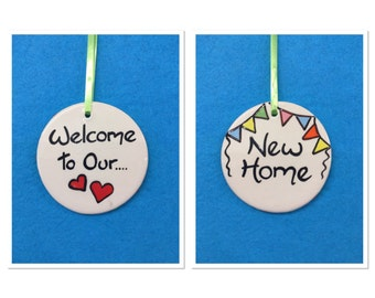 New Home hanging plaque