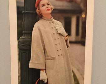 1950's Vintage Fashion Photo