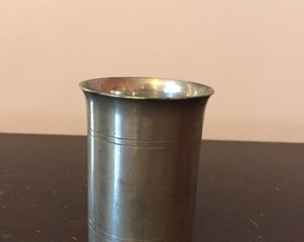 Vintage Pewter 'Spirit Cup', Made in the USA