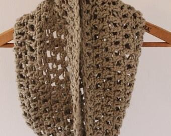 Basic Crochet Organic Cotton Cowl