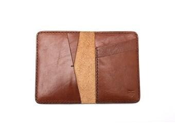 Bi-Fold Wallet - Cognac