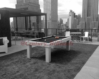 The Custom Metropolitan Outdoor Pool Table