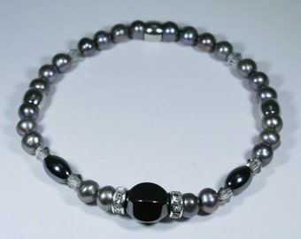 Bracelet pearls freshwater pearls