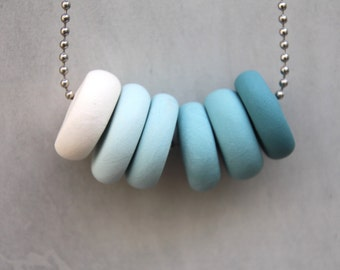 Calm - Polymer Necklace